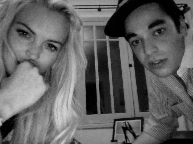 Lindsay Lohan and Gavin Doyle