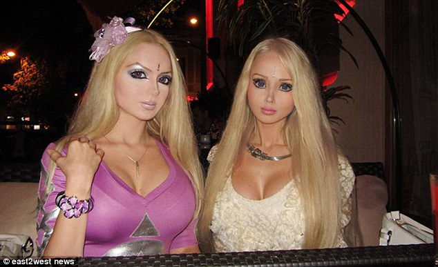 Barbie Husband Lukyanova Valeria Human Doll