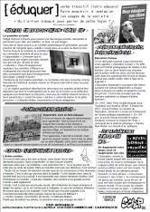 Tract du SCALP / No Pasaran 34 sur l'Education