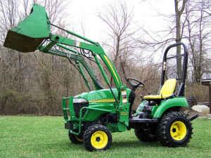 John Deere 2305 4wd Compact Tractor Price