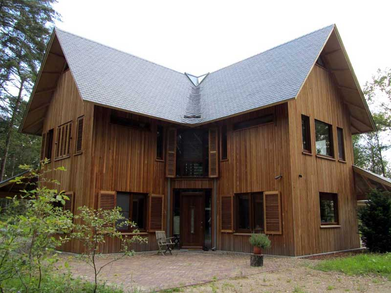 Fotogalerij Houten Huis  Scanabouw Houtbouw