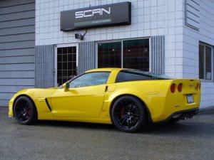 2006 Chevrolet Corvette Z06: Major Improvements