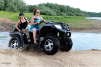 Getting a charge out of ATVing With Your Family