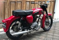 Remake of a 1967 BSA B40 WD
