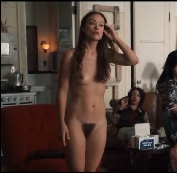 Olivia Vilde Completely Naked In Tv Show Vinyl