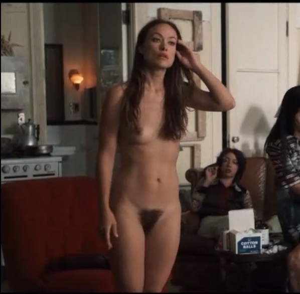 Olivia Vilde Completely Naked In Tv Show Vinyl