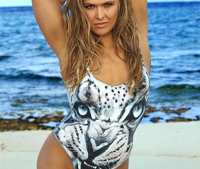 13 Ronda Rousey Nude Bodypaint