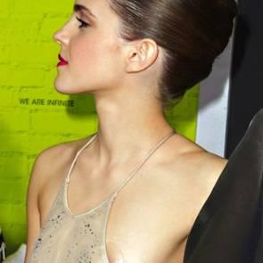 Emma Watson nipples with pasties