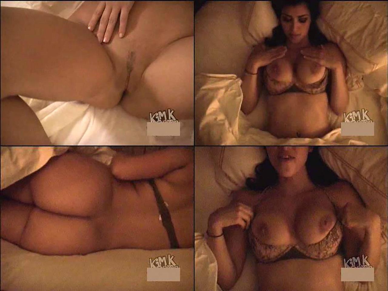 17 Kim Kardashian Nude Leaked Ass