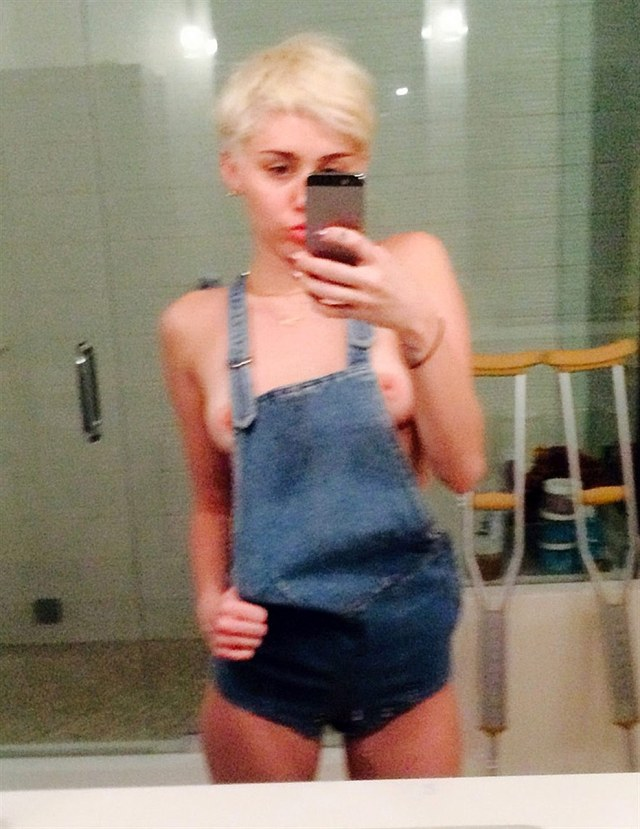 16 Miley Cyrus Leaked Nudes Young