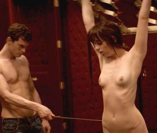 Dakota Johnson Sex Scene With Feather In Fifty Shades Of Grey  C2 B7 Dakota Johnson Nude