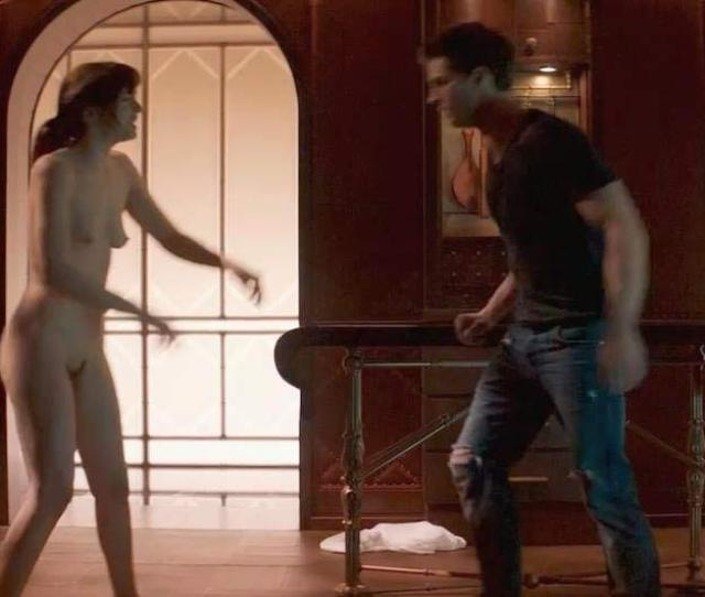Dakota Johnson Topless Whipping Scene From Fifty Shades Of Grey