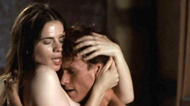 Hayley Atwell riding the man sex scene