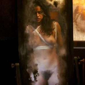 Michelle Rodriguez Nude Pussy Scene From The Assignment
