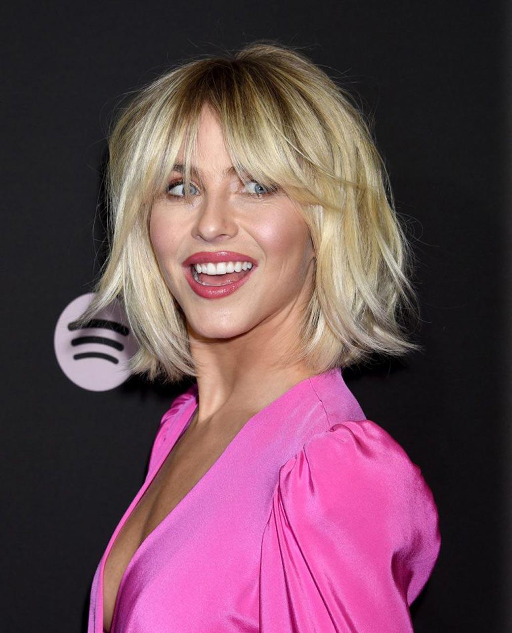 Julianne Hough Braless for Spotify Awards  Scandal Planet