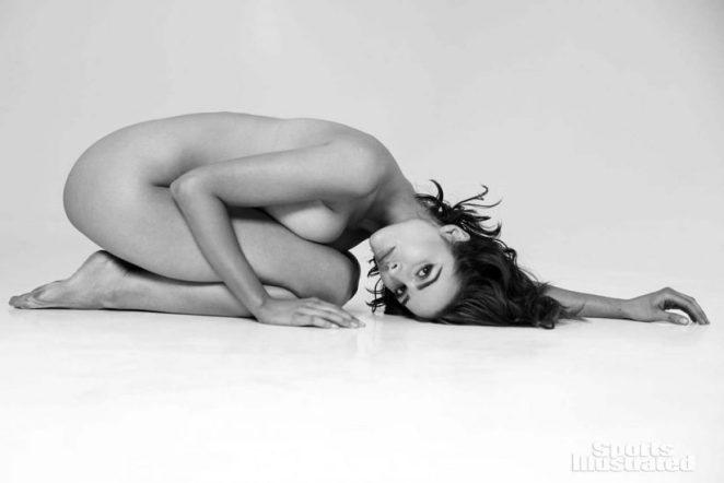 Olivia Culpo nude on the floor