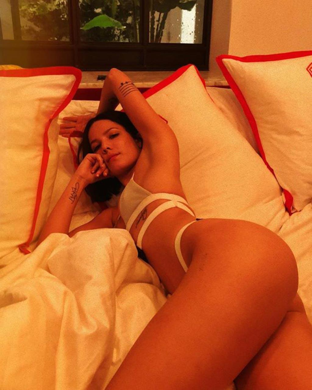 Halsey Nude  Sexy Photos  Scandal Planet