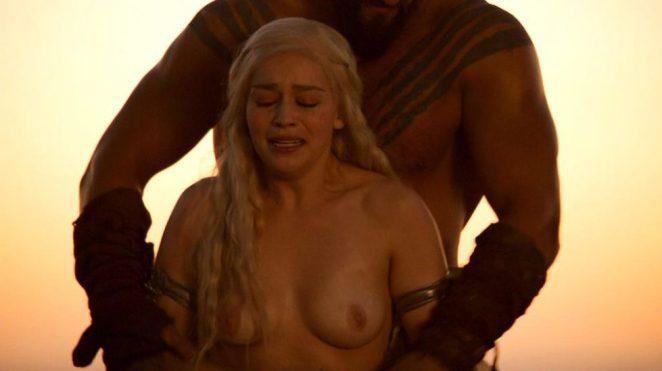 Emilia Clarke forced nudity