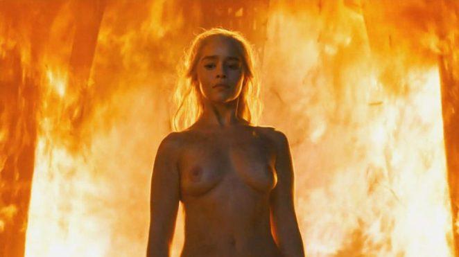 Emilia Clarke naked