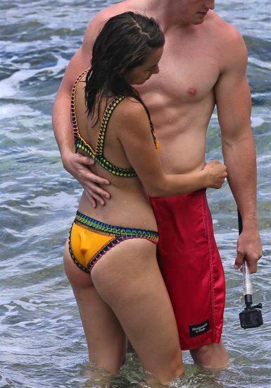 Chloe Bennett ass in bikini