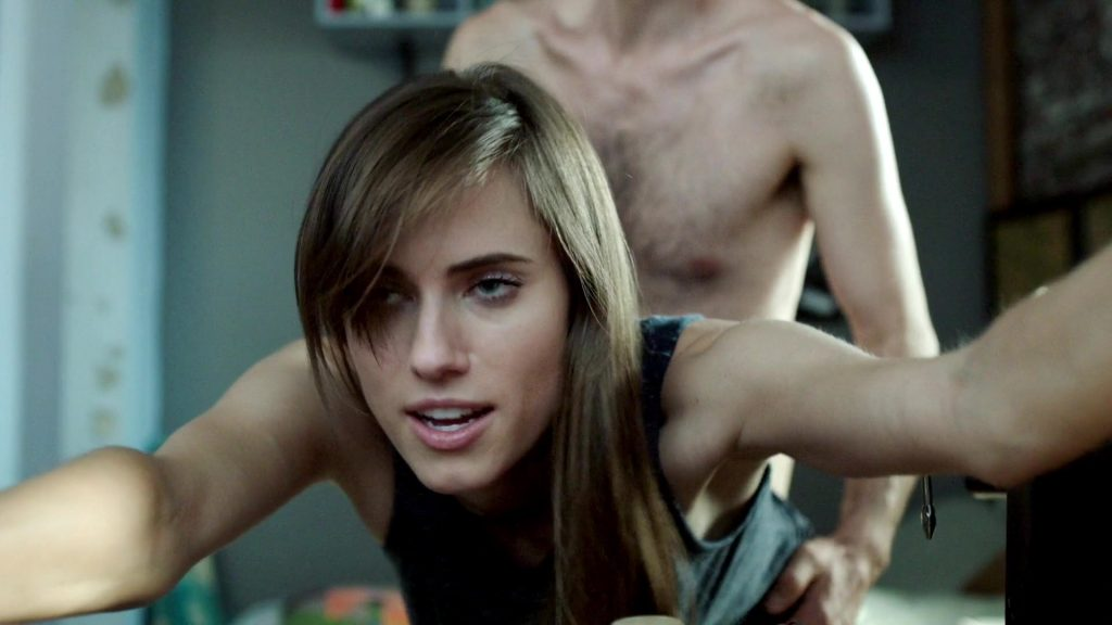 Allison Williams Doggy Style Sex In The Kitchen From Girls