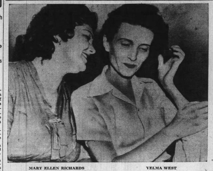 Mary Ellen and Velma