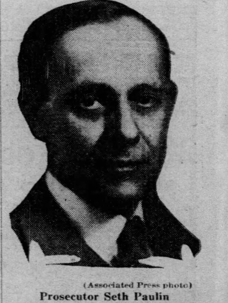 Prosecutor Seth Paulin