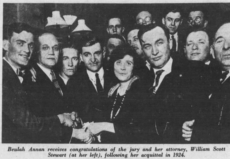 Beulah with the Jury