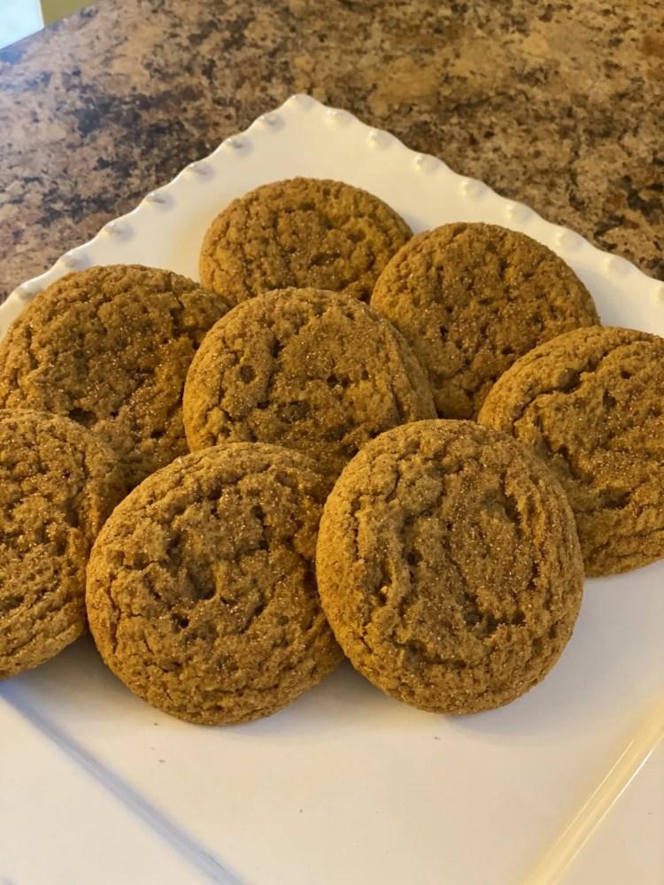 Cookie Recipes - Pumpkin Snickerdoodles