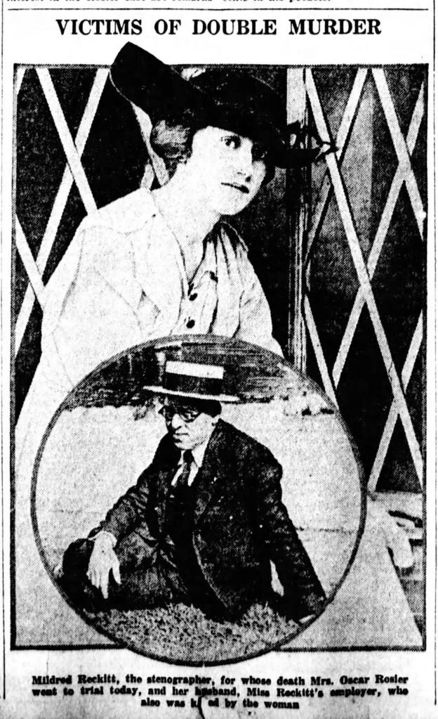 Mildred Reckitt and Oscar Rosier