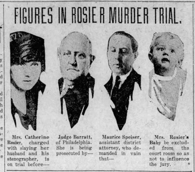 Players in the trial