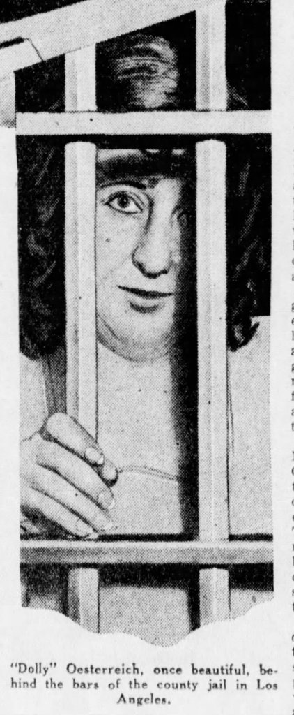 Dolly behind bars