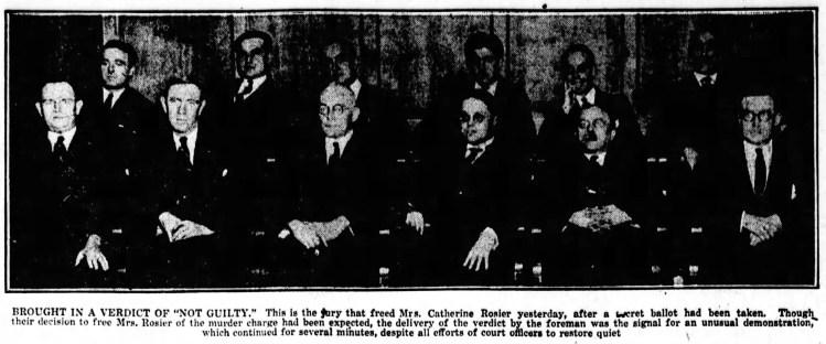 Catherine Rosier's Jury