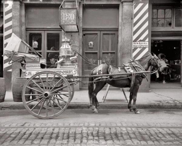 Cart Peddler in New Orleans