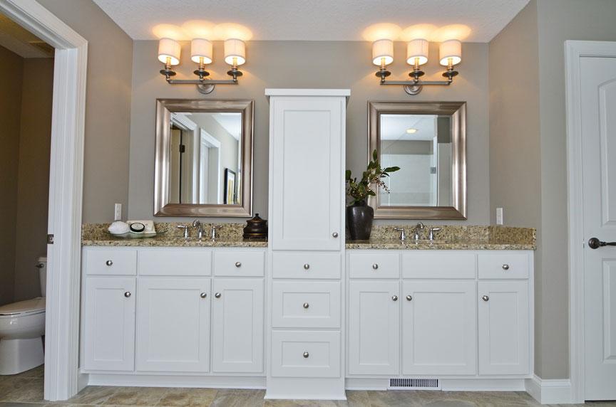 Bath  Vanities  Scandia Custom Cabinets