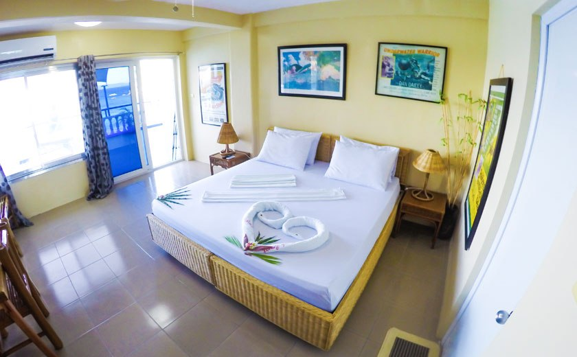 penthouse room campbells beach resort