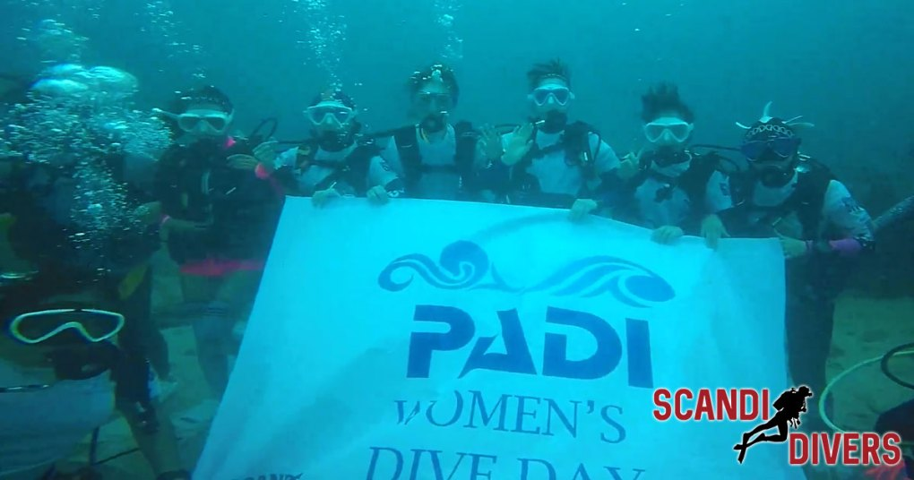 padi womens dive day puerto galera