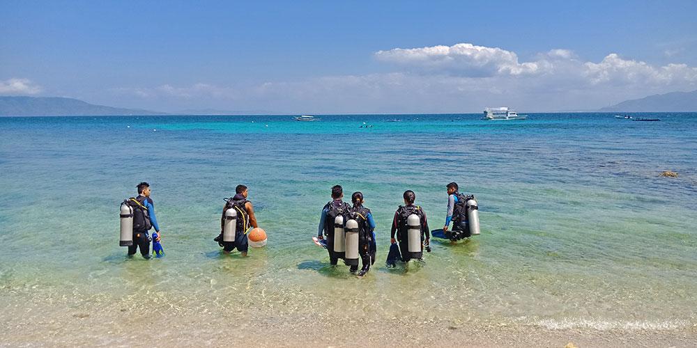 scuba diving in puerto galera philippines