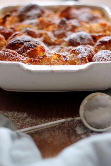 Croissant Suzette Pudding | Scandilicious Kitchen