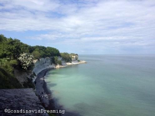 Hojerup Stevns cliffs Denmark