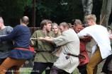 Rope pulling game Viking games 2014 Denmark working hard