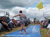 Concours de glisse au camping du festival de Roskilde, ambiance garantie !