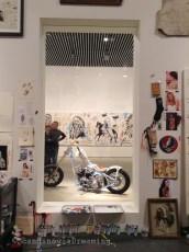 L'atelier de l'artiste Michael Dupuoy à ARoS