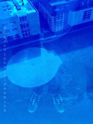 Se double exposer en bleu