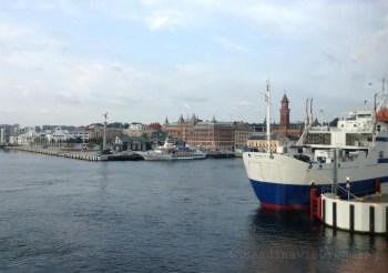 Port d'Helsingorg en Scanie