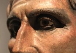 Fac similé de statue en bronze romaine