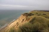 Falaises de Maarup grignotées par la mer et le vent