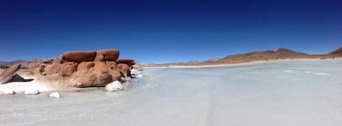 La piedras rojas de Atacama