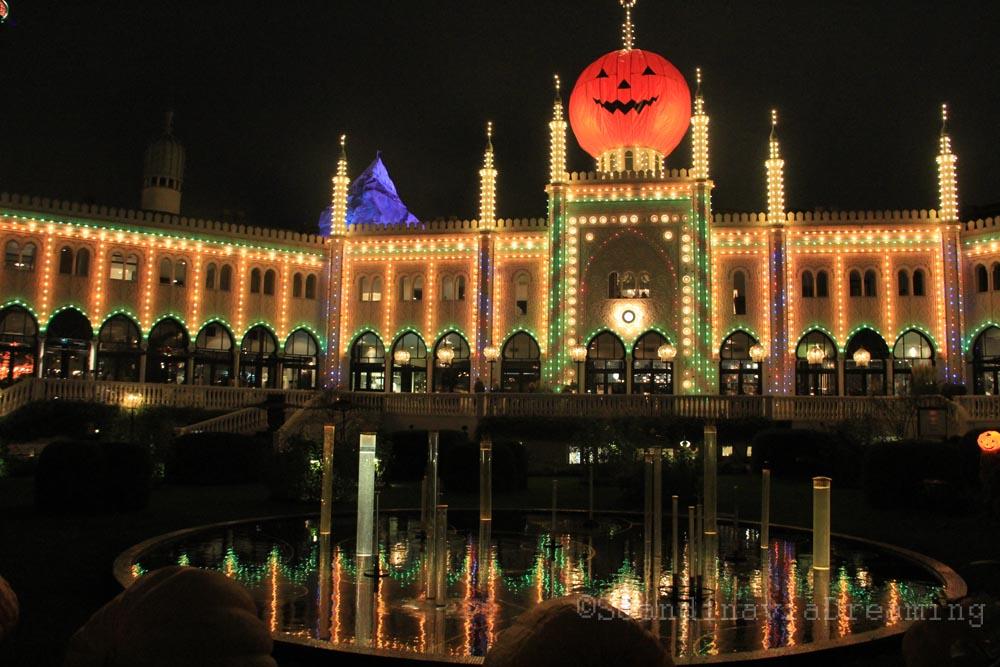 Palais de Tivoli de nuit