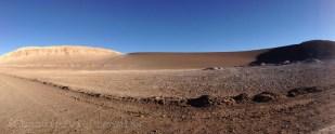 Vallée de la lune dans le désert d'Atacama Chili